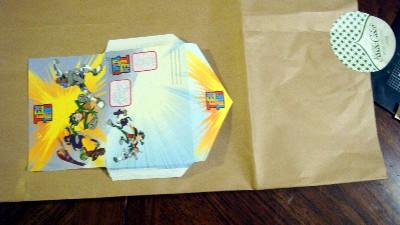 Craft envelope 002